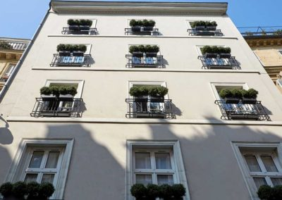 Hotel Saint Germain - Facade haute